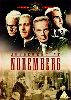 This movie is one of the greatest historical movies I have ever seen about the judgement of actual Nazi Judges with actual footage of Nazi concentration camps....very powerful and disturbing.....but important to not forget what happened.