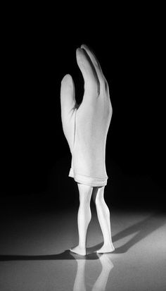 Available for sale from Salon Laurie Simmons, Walking Glove Pigment Print, 84 × 48 in Female Eyes, Walking, Female Photographers, Costume Design, Puppets, Wearable Art, Ballet Shoes, Artsy, Costumes