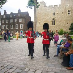 Guards at the Tower of London.