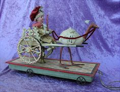 Rarer original alter Puppenautomat Frankreich 19 Jahrhundert France Doll  | eBay