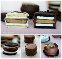 The perfect treat... A Reese's stuffed Oreo! Simple and delicious!