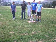 Rocket Competition at Engineering Design Camp, Colorado School of Mines