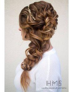 bridal side braid