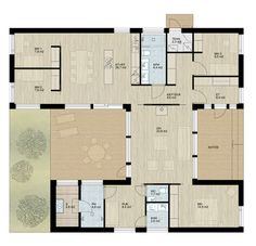 Pala — Design-Talo Future House, My House, Bungalow, Humble Abode, My Dream Home, Sims, Architecture Design, House Plans, Sweet Home