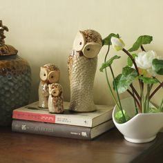 Continental-decoraciones-para-el-hogar-adosado-feng-shui-adornos-adornos-regalo-de-boda-búho-de-cerámica
