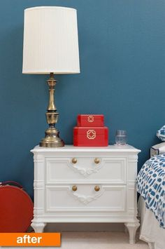 Before & After: Michelle's Lightened & Refreshed Nightstands