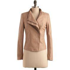 Chai Speed Jacket found on Polyvore,perfect with a white dress