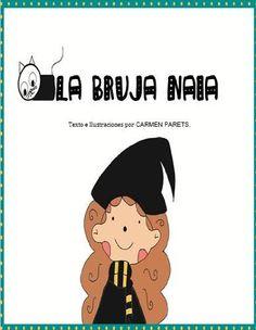 La Bruja Naia-Cuentos Infantiles de brujas-Halloween