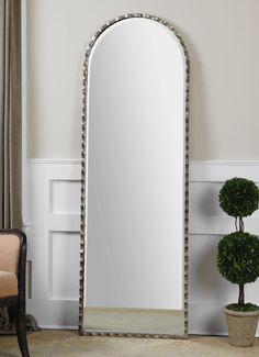 "FineHomeLamps.com - Gelston Arch Silver Mirror by Uttermost - 24"" x 72"", $503.80 (http://www.finehomelamps.com/gelston-arch-silver-mirror.html/)"