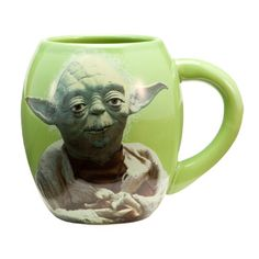 Star Wars™ Yoda 18 oz. Ceramic Oval Mug Star Wars Gifts 9b5a2e67079