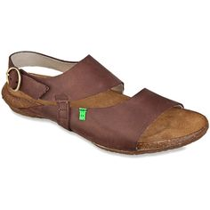 El Naturalista Women's Wakataua N447 Sandals (155 CAD) ❤ liked on Polyvore featuring shoes, sandals, brown cares, brown shoes, rubber sole shoes, el naturalista sandals, el naturalista and el naturalista shoes