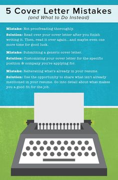 5 cover letter mistakes and what to do instead cover letters tips