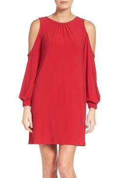ECI Cold Shoulder Dress available at #Nordstrom