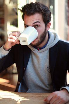blazer & hooded sweatshirt