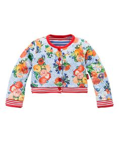 Look what I found on #zulily! Blue Tanneke Cardigan - Toddler & Girls by Oilily #zulilyfinds