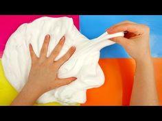 Fluffy Marshmallow Slime How to Make DIY - YouTube