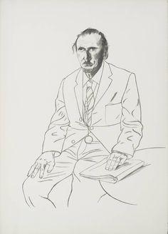 David Hockney, Connoisseur, 1969