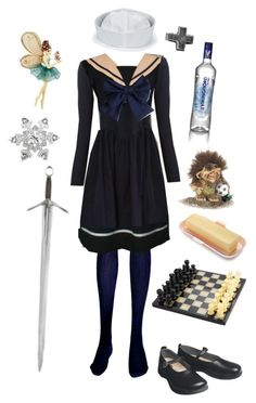 """""""Nyotalia Norway-Hetalia"""" by conquistadorofsorts ❤ liked on Polyvore featuring Cor Sine Labe Doli, Taylor, Betsey Johnson and Birkenstock"""