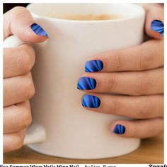 Minx Nails, Us Nails, Wave Nails, Geode Rocks, Blue Geode, Summer Waves, Coffin Nails Long, How To Do Yoga, Acrylic Nails