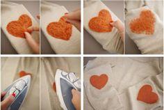 Tu ropa con fieltro paso 2