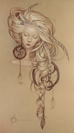 Pencil drawings from a young American artist Jennifer Healy