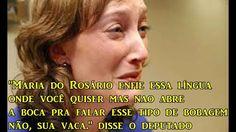 Deputado humilha Maria do Rosário e chama ela de VACA - YouTube