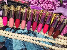 Urban Decay Vice Lipstick Review and Swatches!!