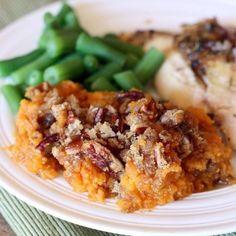 Sweet Potato Souffle recipe on TastesBetterFromScratch.com