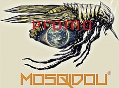 """Outsiders"" This is one of the logos to our brand. Mosqidou is a Music Production and Clothing Company. ""Blood is Everything"" - Check out our latest apparel and music here @ Mosqidou.com - Don't forget to look out for Nathan Walsh's Dark Science Fiction Novel, ""Pursuit of the Zodiacs"" Launching Soon!"