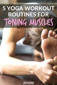 Yoga is a great way to build strength without having to lift weights, and these 5 yoga workout routines for toning muscles will help you do just that. Quick Weight Loss Tips, Weight Loss Help, Need To Lose Weight, Weight Loss Program, Best Weight Loss, Losing Weight, Diet Program, Weight Loss Challenge, Loose Weight