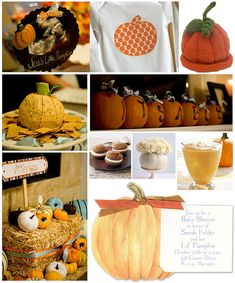 Autumn Themed Baby Shower