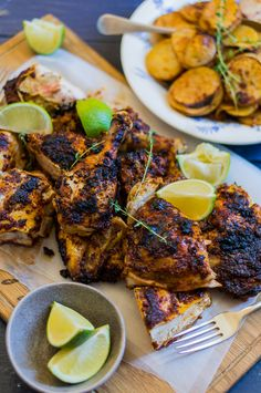 Peri Peri Chicken - by Hein van Tonder, awarded Cape Town based food photographer, videographer & stylist Yummy Chicken Recipes, Turkey Recipes, Real Food Recipes, Dinner Recipes, Healthy Recipes, Peri Peri Chicken, Healthy Comfort Food, Dinner Is Served, Base Foods