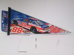 nascar dale jarrett #88 racing variant design pennant from $9.99