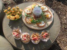 Breakfast is served at Singita Grumeti. Bruschetta, Deli, Veggies, Picnic Ideas, Breakfast, Ethnic Recipes, Safari, Kitchen, Food Ideas