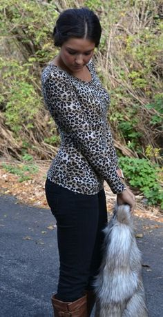 Casual Cheetah Top, $27.00