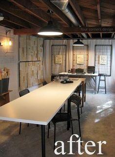 An Airy, Artist Workshop via Four Corners Design