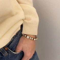 Jewellery, Bracelets, Gold, Leather, Fashion, Moda, Jewels, Fashion Styles, Schmuck
