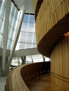 Oslo, Norway, Oslo Opera House Interior- photograph by C Kevin Coffey