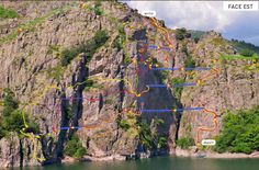 La via ferrata de Villefort - Département de la Lozère