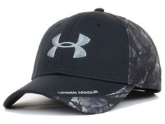 Under Armour Smoke Camo PC Flex Cap Hats