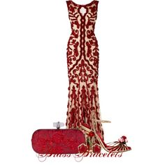 Untitled #2810, created by brassbracelets on Polyvore-not big on the shoes, but I LOVE the dress!