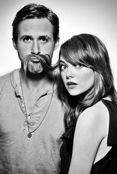 Emma Stone and Ryan G - these two haha