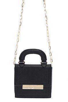 ROMWE   ROMWE Elegant Black Mini Bag, The Latest Street Fashion