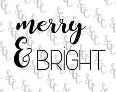 Reusable Stencil - Christmas Design - Merry & Bright - Many Sizes to Choose from! by StencilsGaloreCanada on Etsy Growth Chart Ruler, Christmas Stencils, Large Stencils, Christmas Tree Farm, Stencil Diy, Architectural Salvage, Christmas Design, Merry And Bright, Etsy Seller
