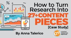 Learn how to transform a single research report into a full-fledged content marketing campaign in this case study – Content Marketing Institute