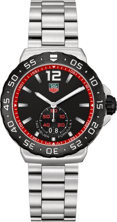 TAG Heuer Watch Formula 1 Watch #360-image-yes #bezel-unidirectional #bracelet-strap-steel #brand-tag-heuer #case-material-steel #case-width-42mm #date-yes #delivery-timescale-call-us #dial-colour-black #gender-mens #luxury #movement-quartz-battery #official-stockist-for-tag-heuer-watches #packaging-tag-heuer-watch-packaging #sku-tag-035 #subcat-formula-1 #supplier-model-no-wau1114-ba0858 #warranty-tag-heuer-official-2-year-guarantee #water-resistant-200m