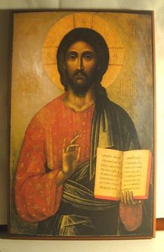 Lord Jesus Christ, Son of God, have mercy on me, a sinner. (Icon of Christ the Teacher) Religious Icons, Religious Art, Religious Images, Christus Pantokrator, Images Of Christ, Jesus Christus, Orthodox Christianity, Catholic Art, Orthodox Icons