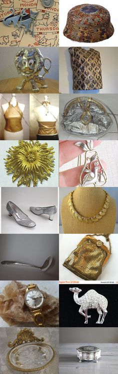 Vexplosion Team - SILVER AND GOLD by Cathy on Etsy--Pinned with TreasuryPin.com