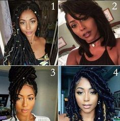 All beautiful 4 is my fav. #style #naturalista #blackgirlmagic #naturalhair #hairstyle #healthyhair #curls #kinkycurly #Coils #friends #braidsgang #blackgirlyoga #naturalchics #blackgirl #naturalhair #cornrows #beautiful #nice #pretty Coco Black Hair provide the most natural looking hair and wigs Change yourself today!
