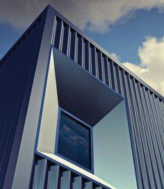 Lámina de metal acanalada / de acero / para tejado / para revestimientos de fachada GRANITE® STORM ArcelorMittal Flat